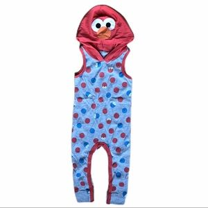 Like new! Isaac Mizrahi Elmo/Cookie Monster romper